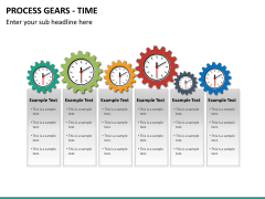 Process gears PPT slide 10