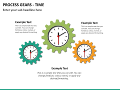 Process gears PPT slide 13
