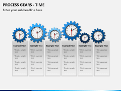 Process gears PPT slide 2
