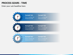 Process gears PPT slide 3