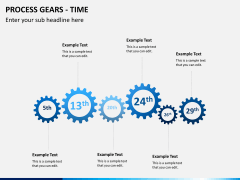 Process gears PPT slide 4