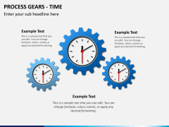Process gears PPT slide 5