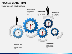 Process gears PPT slide 6