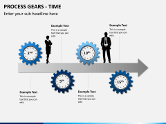 Process gears PPT slide 7
