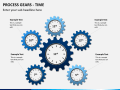 Process gears PPT slide 8