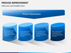 Process improvement PPT slide 1