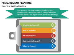 Procurement Planning PPT slide 17