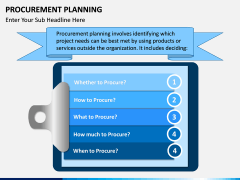 Procurement Planning PPT slide 1