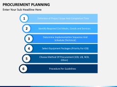 Procurement Planning PPT slide 13