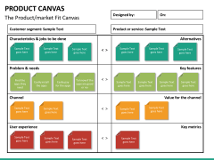Product canvas PPT slide 8