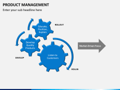 Product management PPT slide 13