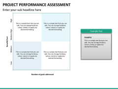 Project performance assessment PPT slide 10