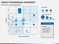 Project performance assessment PPT slide 4