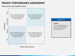Project performance assessment PPT slide 5