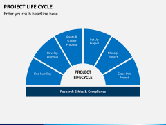 Project life cycle PPT slide 2