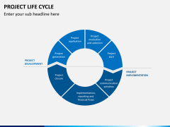 Project life cycle PPT slide 4