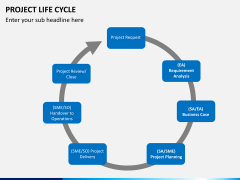 Project life cycle PPT slide 6