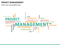 Project management PPT slide 45