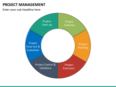 Project management PPT slide 33