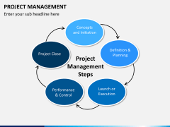Project management bundle PPT slide 1