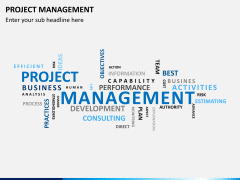 Project management PPT slide 21