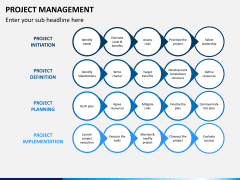 Project management PPT slide 2