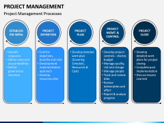 Project management PPT slide 9
