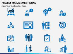 Project Management Icons PPT slide 1