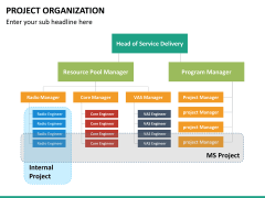 Project organization PPT slide 10