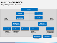 Project organization PPT slide 4