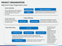 Project organization PPT slide 5