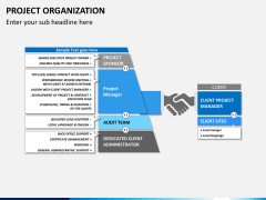 Project organization PPT slide 6