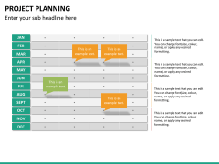 Project planning PPT slide 22