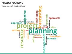 Project planning PPT slide 15