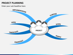 Project planning PPT slide 1