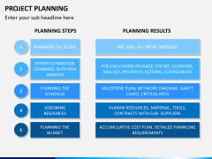 Project planning PPT slide 7