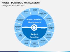 Project portfolio management PPT slide 1