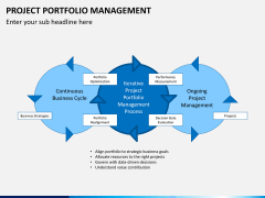 Project portfolio management PPT slide 3