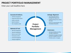 Project portfolio management PPT slide 4