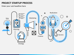 Project startup process PPT slide 1