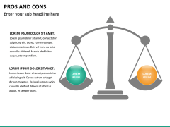 Pros and cons PPT slide 23