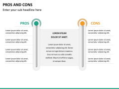 Pros and cons PPT slide 33
