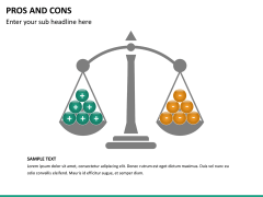 Pros and cons PPT slide 34