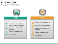 Pros and cons PPT slide 35