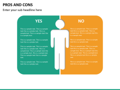 Pros and cons PPT slide 36