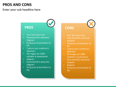 Pros and cons PPT slide 31
