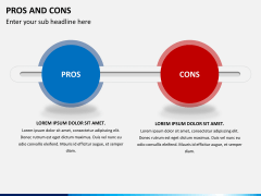 Pros and cons PPT slide 10