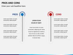 Pros and cons PPT slide 11