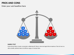 Pros and cons PPT slide 12