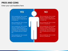 Pros and cons PPT slide 14